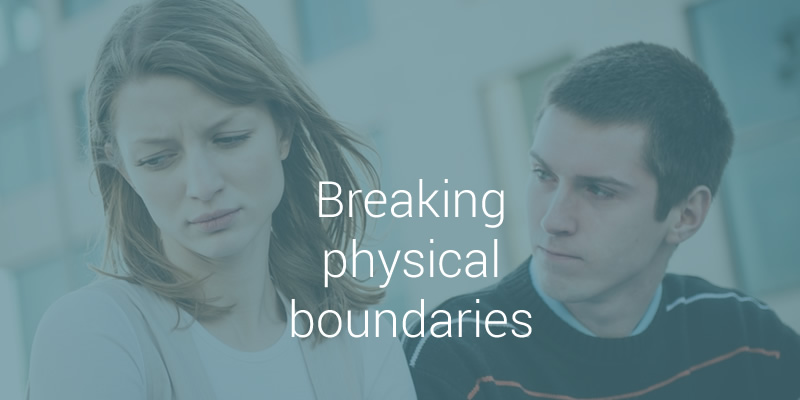 dating and physical boundaries